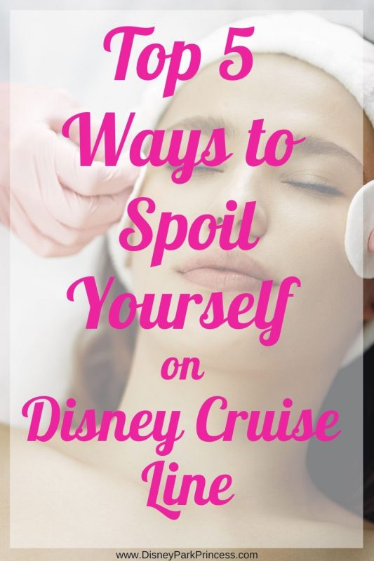 Disney Cruise is the perfect family vacation. But did you know it is also the perfect luxury vacation? Learn our Top 5 Favorite Ways to Spoil Yourself on Disney Cruise Line! #disneycruise #dcl #luxurytravel #familytravel #vip #suitelife #cruising #disneycruisetips