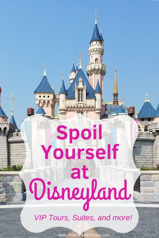 Disneyland can be a relaxing indulgent vacation. It's not just rides! Learn our favorite ways to spoil ourselves at Disneyland! #disneyland #vip #luxurytravel