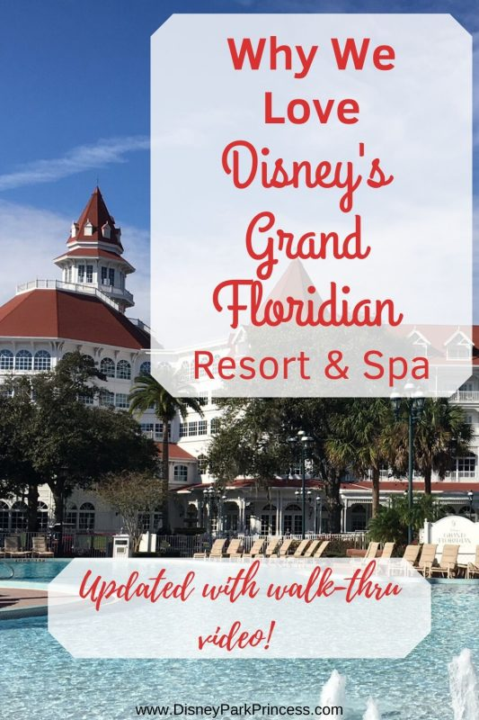 Disney's Grand Floridian Resort & Spa is Disney's Flagship resort for good reason! Learn why we love this resort and check out our walk-thru video! #waltdisneyworld #disneysgrandfloridian #greathotels #luxurytravel #disneyresorts