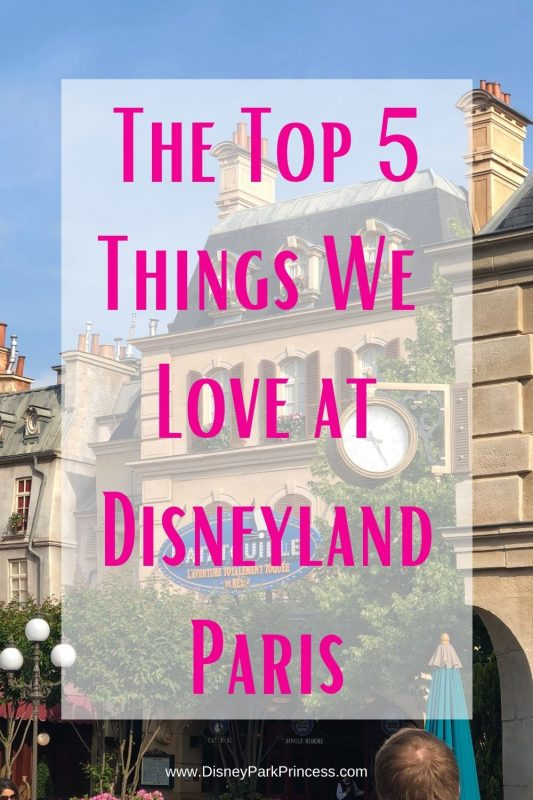 We fell in love with Disneyland Paris! The rides, the hotels, the food... Here are our Top 5 Favorite Things that can ONLY be found at Disneyland Paris! #disneylandparis