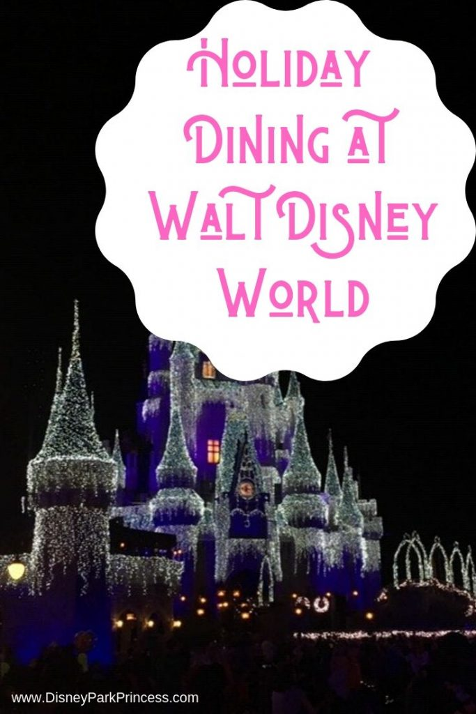 There are many options for holiday dining at Walt Disney World. From the traditional turkey meal to a unique way to break bread with your family!