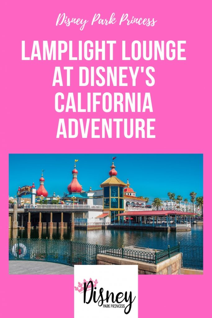 disneyland disney california adventure pixar pier lamplight lounge