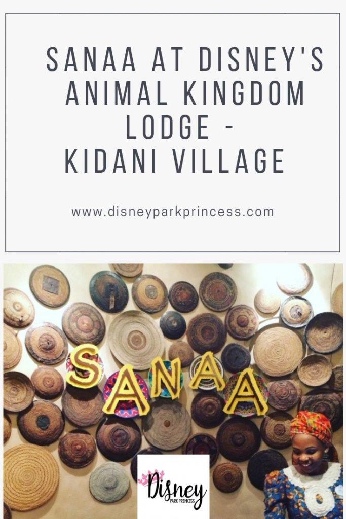 Sanna at Disney's Animal Kingdom Lodge Kidani Village #disneydining