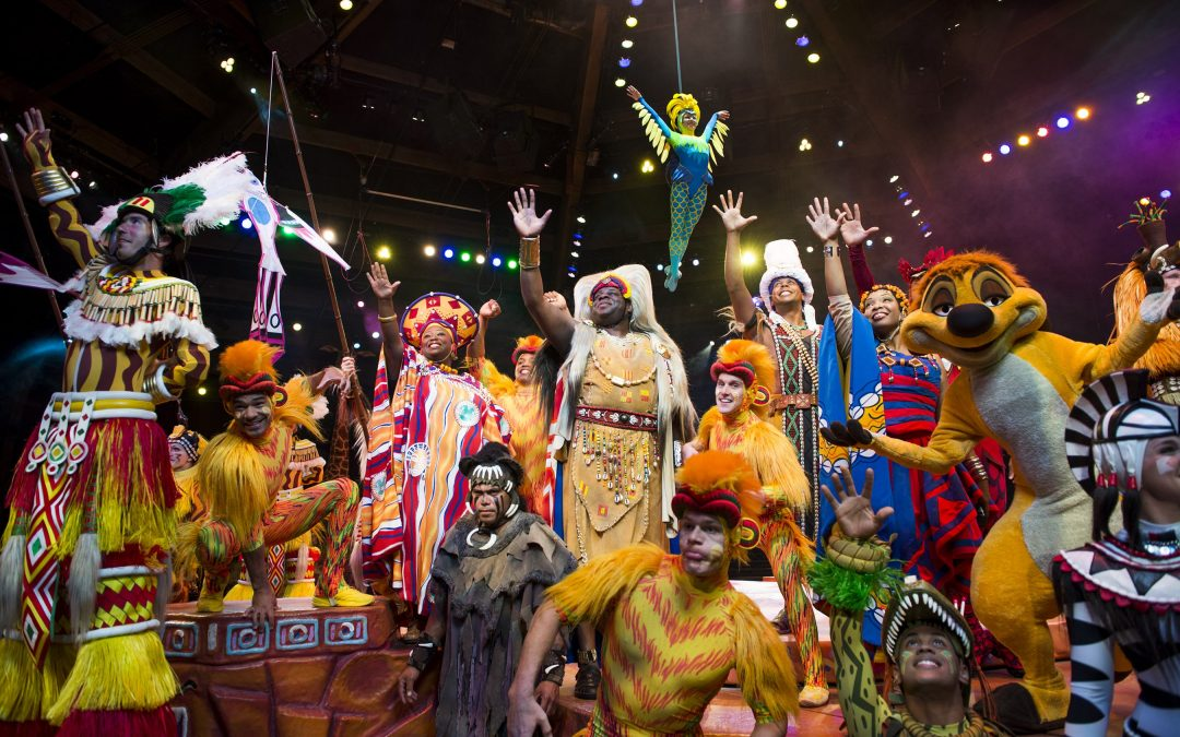 Top 4 Favorite Shows at Walt Disney World Festival of the Lion King