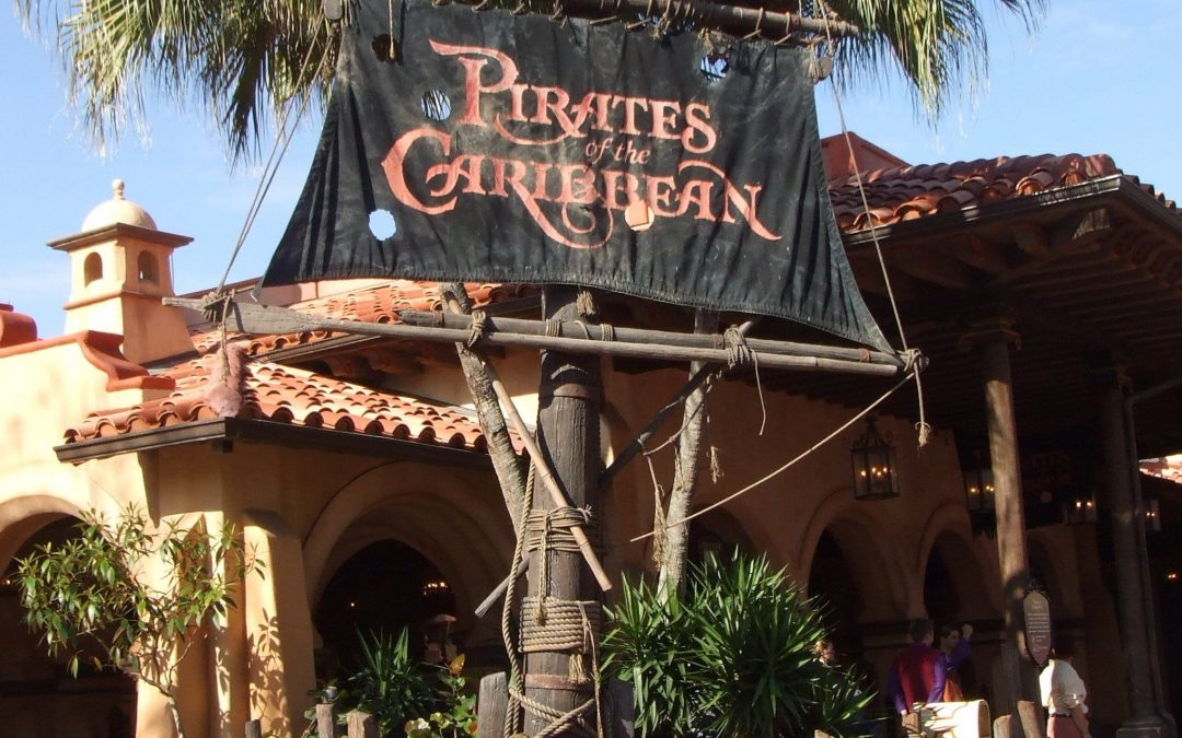 walt disney world magic kingdom pirates of the caribbean
