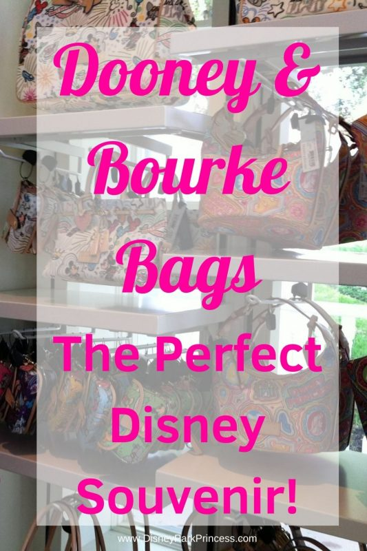 Dooney & Bourke bags are the perfect every day bit of Disney in your life. Find out why we think these bags are the perfect Disney souvenir! #disneyworld #souvenir #disneyland #dooneyandbourke