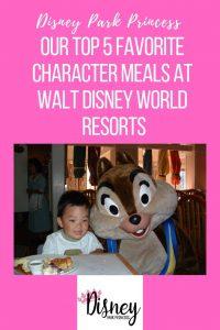 walt disney world resort character dining