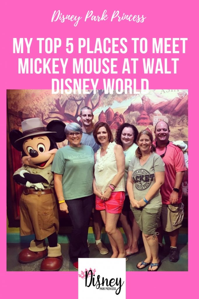 Top 5 Places to meet Mickey Mouse at Walt Disney World