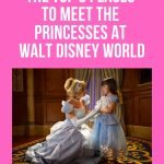 Learn where to meet the Disney Princesses at Walt Disney World (without having to go to Cinderella's Royal Table!) #disneyworld #waltdisneyworld #characterdining #princess