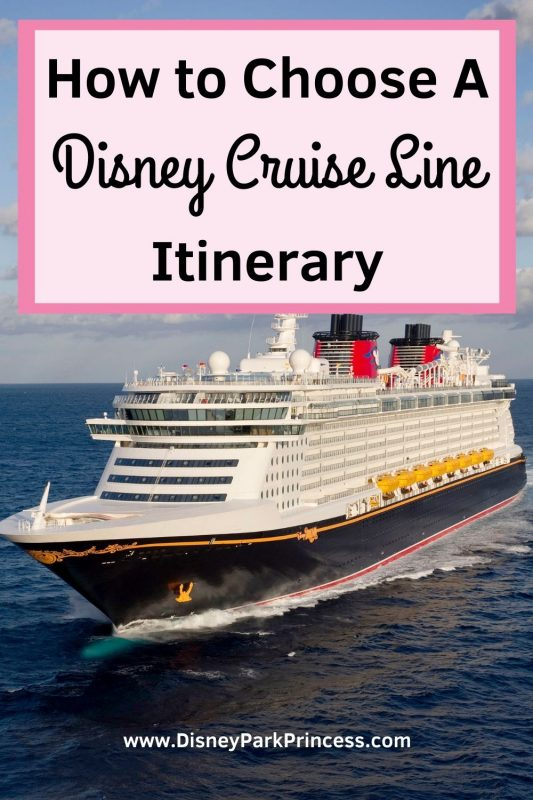 So you want to take a Disney Cruise! But which one? Disney Cruise Line has four ships and visits many different places. Check out our tips on how to pick the perfect Disney Cruise vacation for your family!