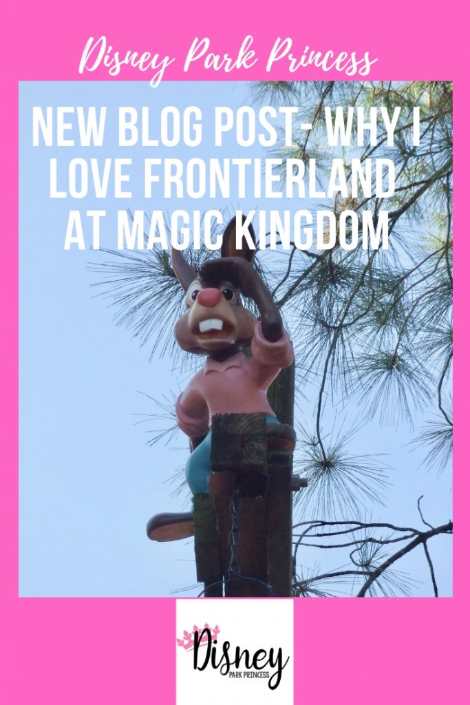 Why I love Frontierland
