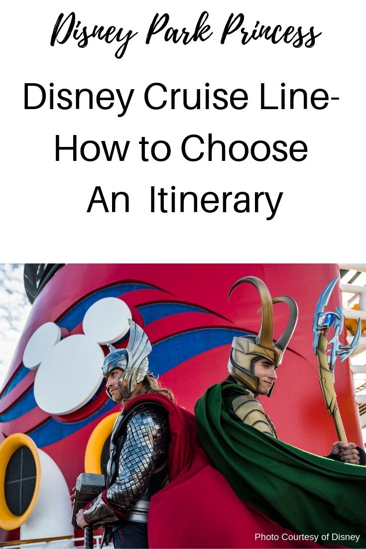 Disney Cruise Line How to Choose an Itinerary