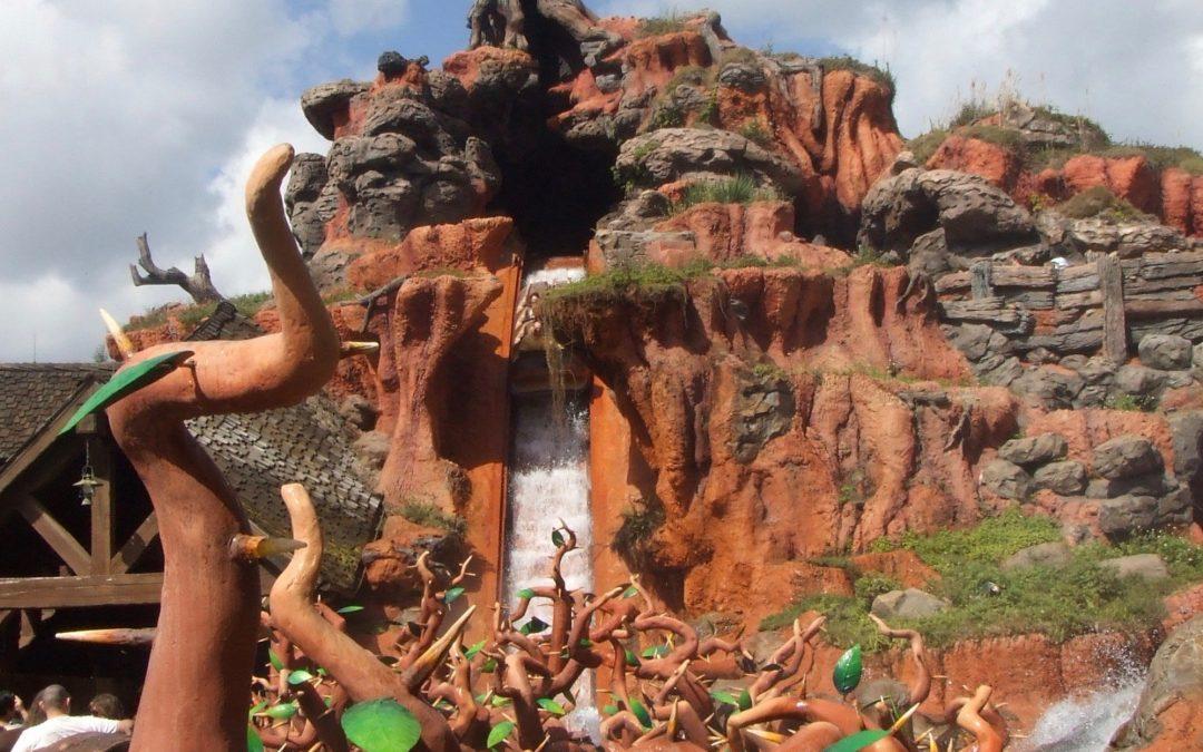 Splash Mountain Magic Kingdom Walt Disney World