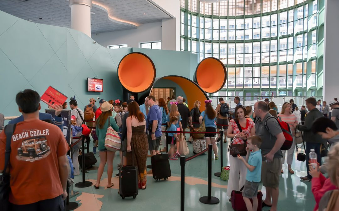 Disney Cruise Line Port Canaveral Entry Way