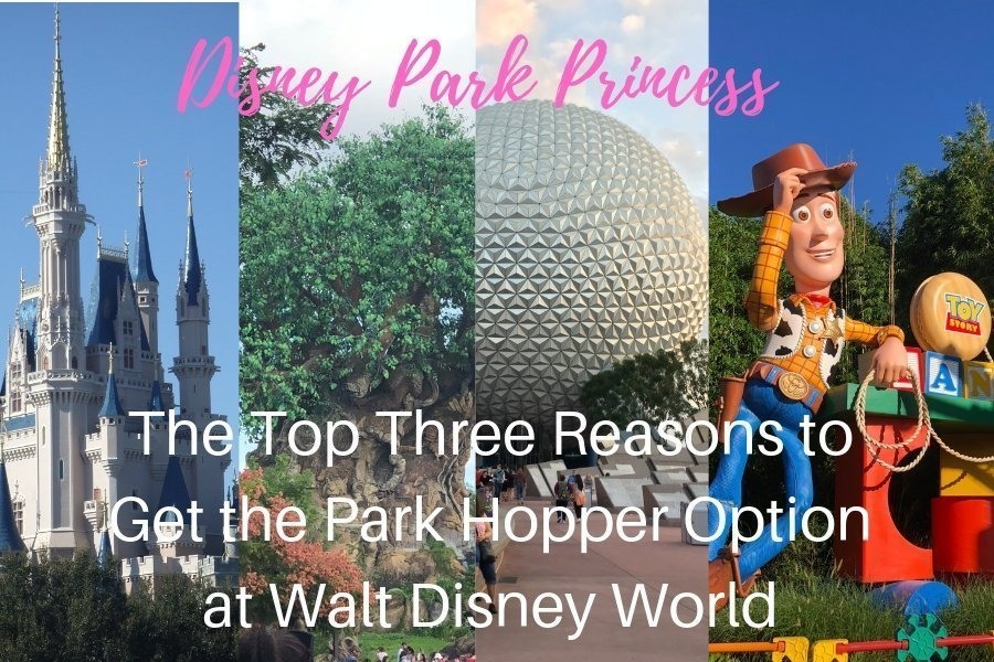 Our Top Three Reasons Why You Should Get the Park Hopper Option for your Walt Disney World Vacation! #disneyworld #parkhopper #waltdisneyworld #disneyparkprincess #disneyparktickets