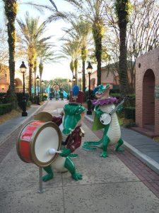 Walt Disney World Port Orleans French Quarter Moderate Resort