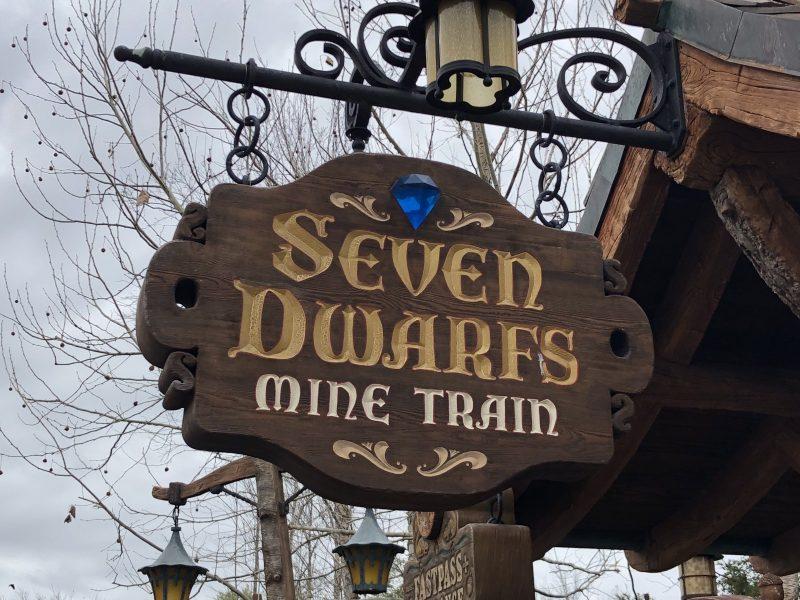 Seven Dwarfs Mine Train Magic Kingdom Walt Disney World