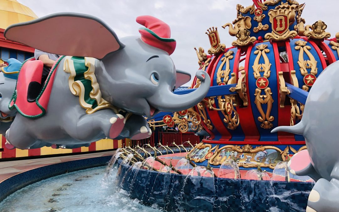 Dumbo Magic Kingdom Walt Disney World