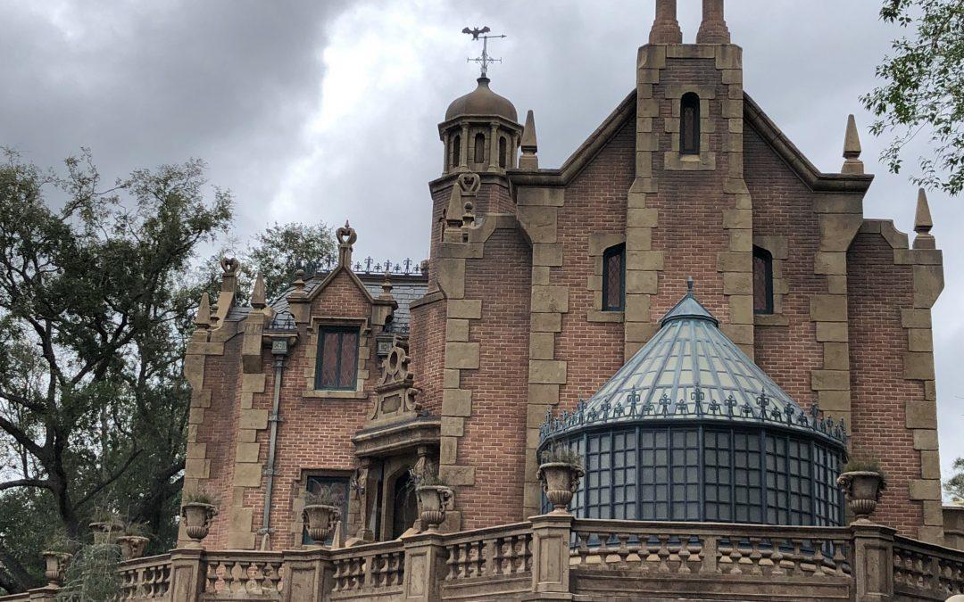 Haunted Mansion Magic Kingdom Walt Disney World