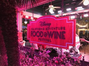 California Adventure Food & Wine Festival