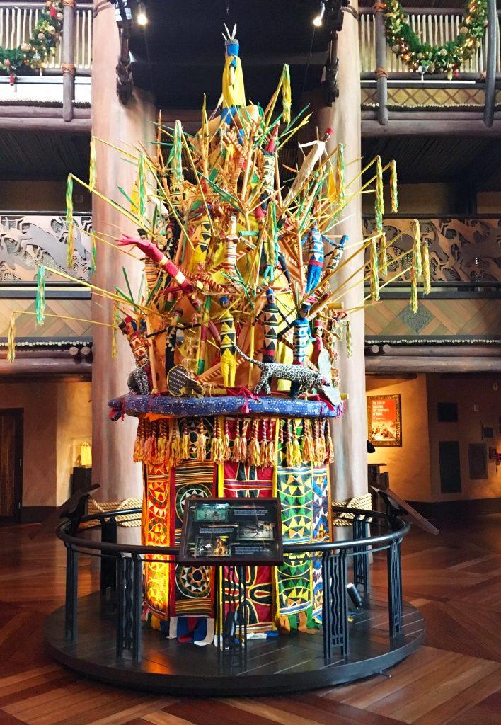 Animal Kingdom Lodge African Artwork