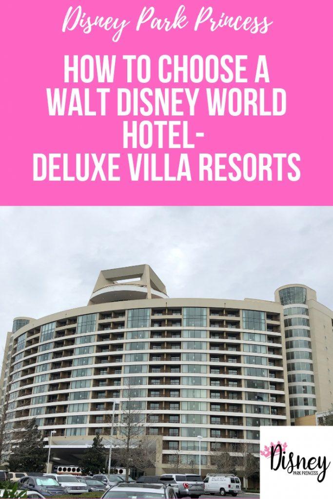 Walt Disney World Deluxe Villa Resort