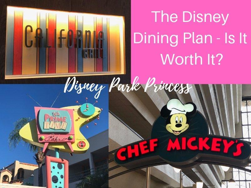 Disney Dining Plan Worth It Walt Disney World