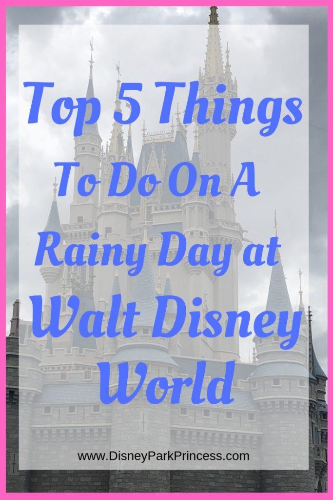Walt Disney World Rainy Day Magic Kingdom Epcot Resorts