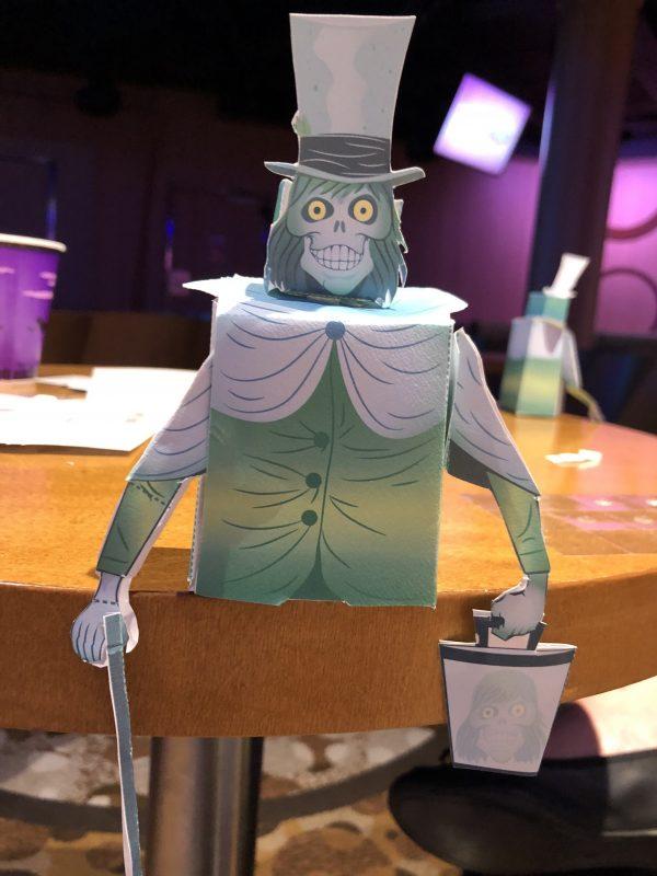 Hatbox Ghost 3D Crafts