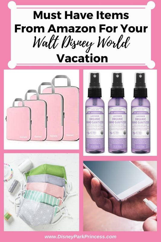 Must Have Items from Amazon For Your Walt Disney World Vacation