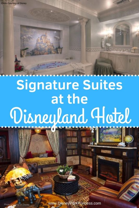 Looking for the ultimate splurge for your Disneyland trip? The Signature Suites of the Disneyland Hotel are incredible. These luxury rooms make for a once in a lifetime vacation! #disneyland #disneylandhotel #luxurytravel