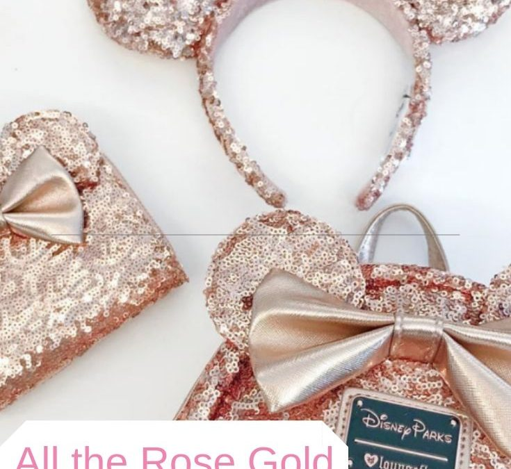 All of the Rose Gold Disney Things You Need Right This Minute