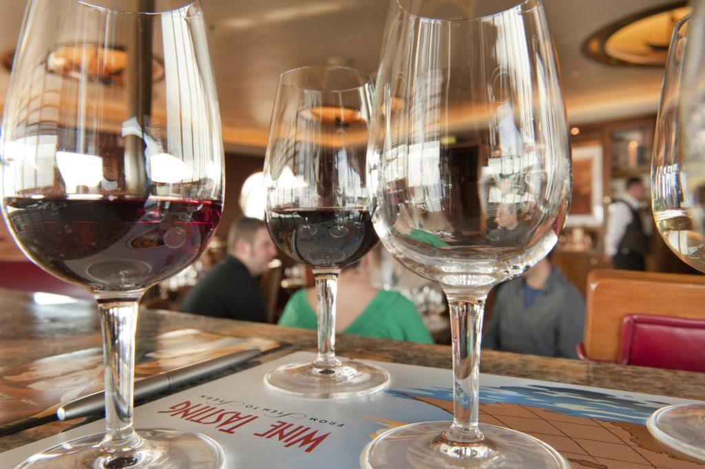 Wine Tastings at Meridian on Disney Cruise Line