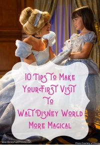 Your first visit to Walt Disney World is special. Learn our Top 10 tips to make this trip extra magical! #disneyworld #firstvisit #waltdisneyworld #familytravel #wdw #firsttrip