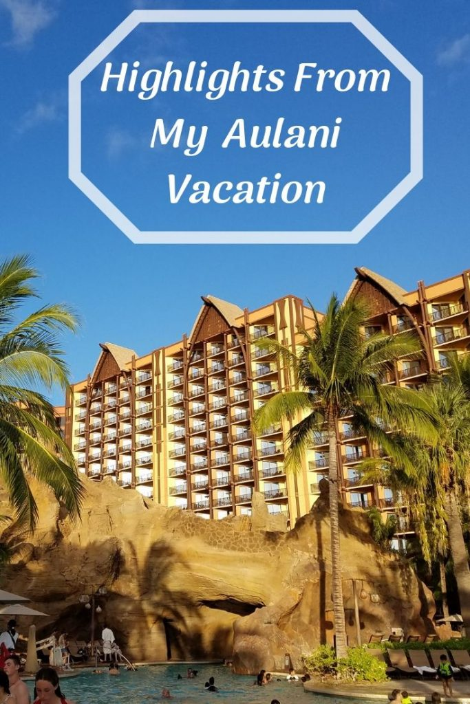 A vacation at Aulani, a Disney Resort and Spa is always incredible. Here are the highlights of my most recent visit and what I am remembering most! #aulani #disneyaulani #hawaii #greathotels