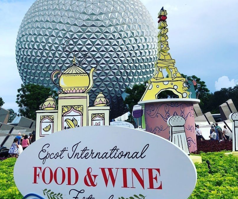 epcot interantional food and wine festival crowd levels