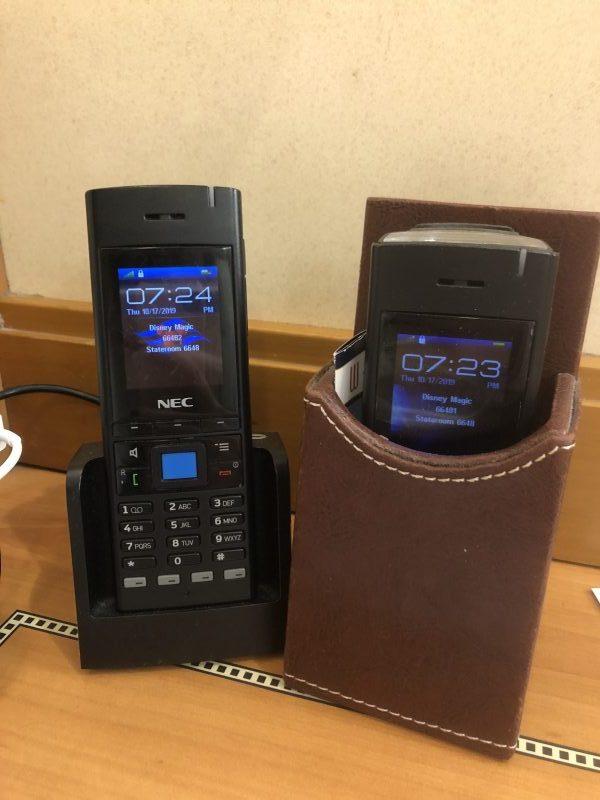 Disney Cruise Line Wave Phones