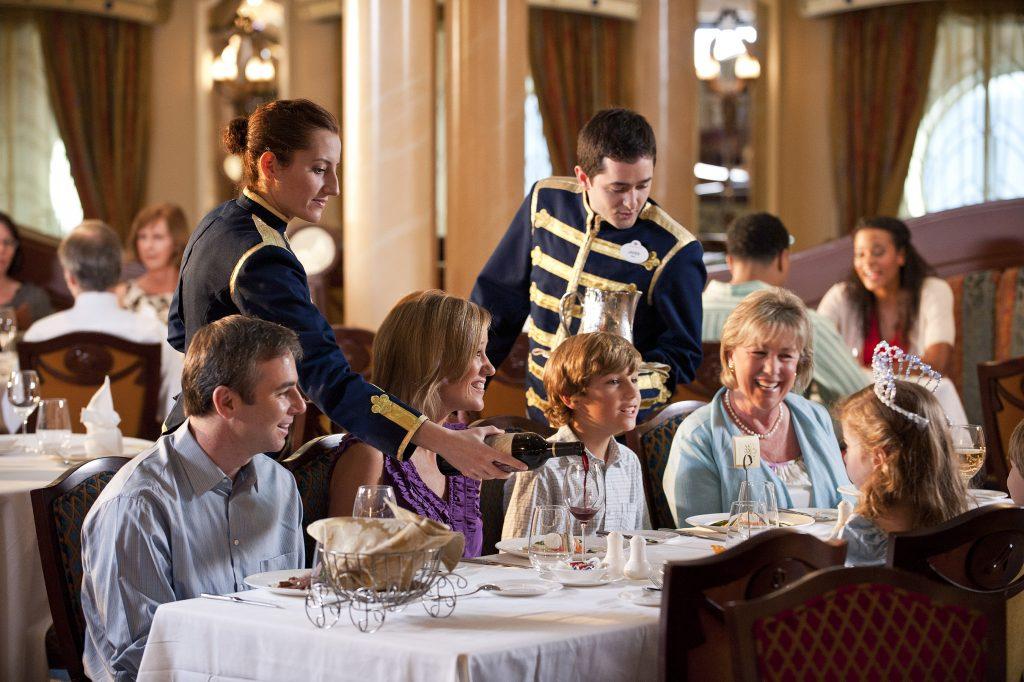 Disney Cruise Line Royal Palace Dining Room Photo courtesy of Disney