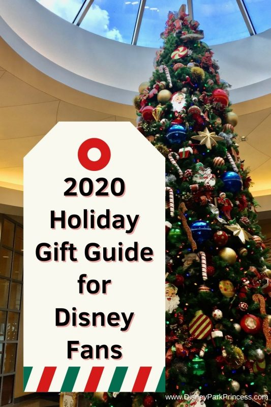 Do you have a Disney Fan on your shopping list? (Or are YOU the Disnet fan?!) Start your shopping early with these ideas from our 2020 Holiday Gift Guide for Disney Fans! There is something for everyone. #disney #disneyworld #disneyland #disneygiftguide #holidayshopping #holidaygiftguide