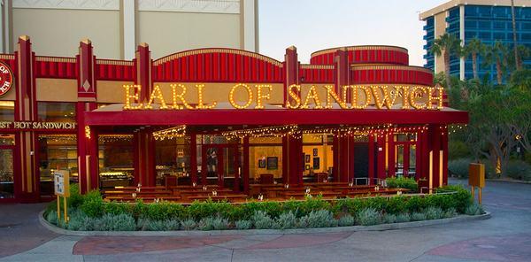Quick Service Restaurant Disneyland Earl of Sandwich