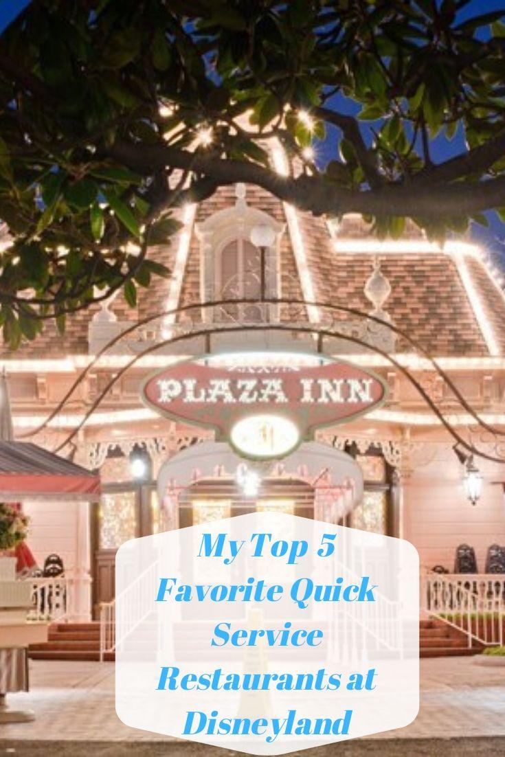 My favorite places to grab a quick counter service meal at the Disneyland Resort. #disneyland #disneyfood #disney