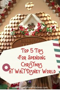 The week between Christmas and New Year's Eve is the busiest week of the year at Walt Disney World. But it can also be the most magical! Learn our Top 5 Tips for making the most of your vacation during this week. #disneyworld #holiday #christmas #disneyholidays #travel #holidaytravel