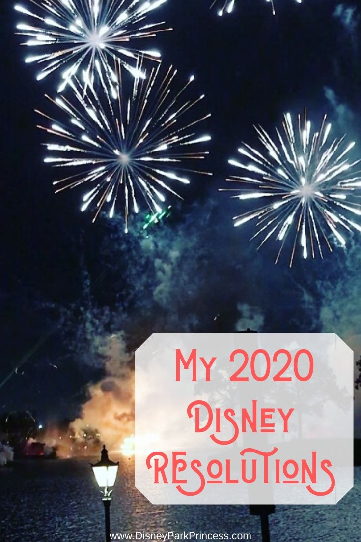 I rarely make New Years Resolutions, but I'm making an exception when it comes to Disney! Here are my Disney Resolutions for 2020 #disney #resolutions #newyear