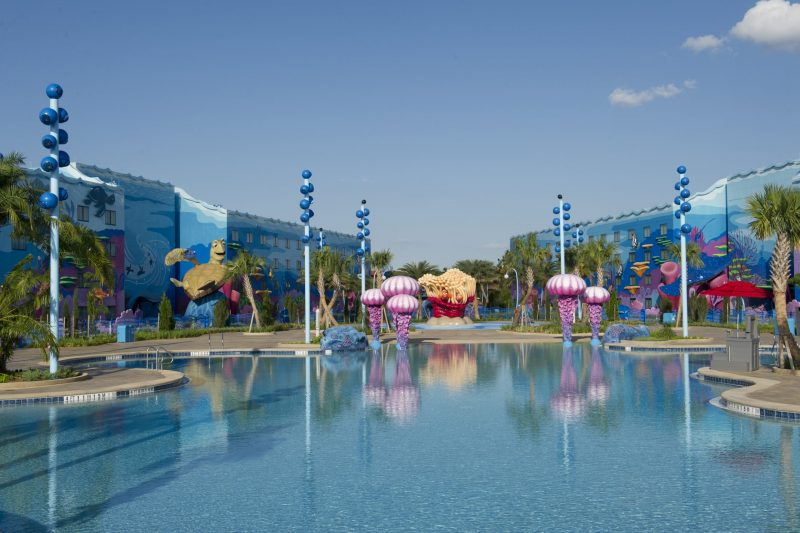 Walt Disney World Art of Animation Big Blue Pool mistake