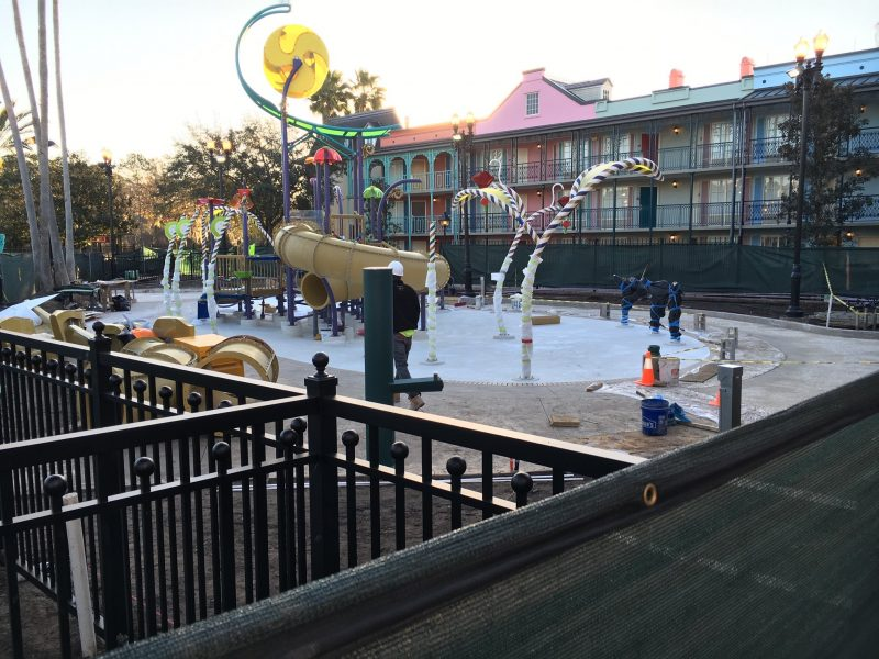 Walt Disney World Port Orleans French Quarter Splash Play Area