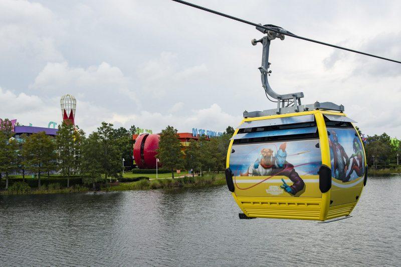 Skyliner Walt Disney World Pop Century Get Around