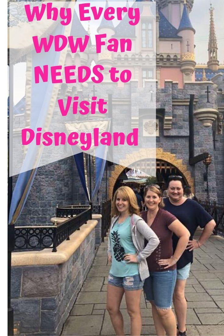 You may love Walt Disney World, but any true Disney fan must visit Disneyland! #disneyland #disneyfan #disney