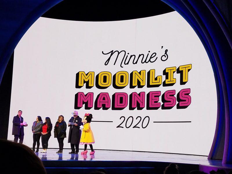 Minnie's Moonlit Madness at Disneyland