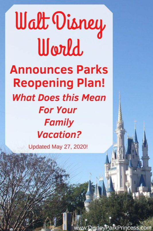 Walt Disney World Reopening July 2020 Social Distancing