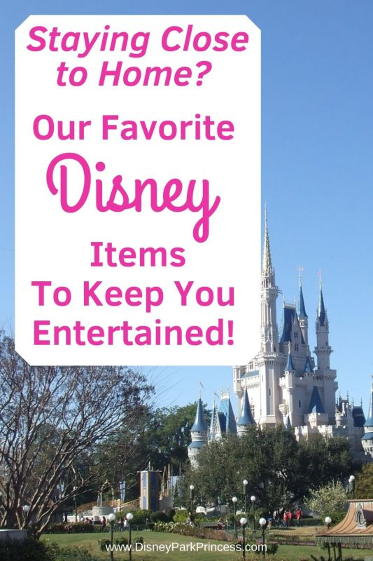 Staying close to home this summer? Here are some of our favorite Disney items from Amazon to help keep you busy and entertained! #disney #summer #staycation